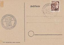 Sonderkarte  Landau Pfalz  1. Briefmarkenhändlertag  1947