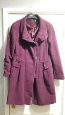 NEXT ladies plum coat 12 petite
