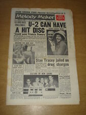 MELODY MAKER 1960 AUGUST 20 FRANCIS POWERS KENNY BAKER JUKE BOX JURY JAZZ +