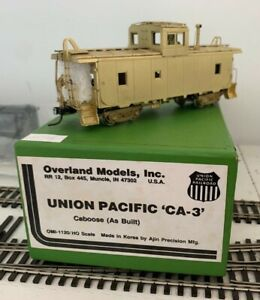 HO Brass OMI Overland Models Union Pacific UP CA-3 Mint in Box