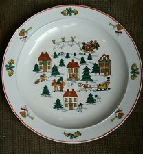 "Classic Collectors Studio Joy of Christmas Dishes 10"" Plate limited  firing"