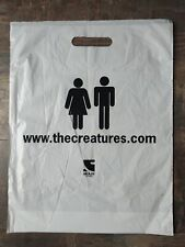 THE CREATURES RARE PROMO PLASTIC BAG Siouxsie & The Banshees Anima Animus Era