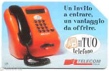 PROMO  IL TUO TELEFONO  SCHEDA TELEFONICA TELECOM 860  USATA