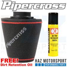 Pipercross Filtro aria universale induzione cono Gomma Collo 80mm x 200 X200 c0187