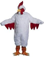 PROFESSIONAL WHITE CHICKEN SUIT adult mens womens costumes dress up outfit NEW
