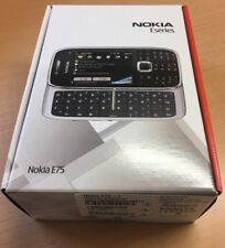 Brand New Nokia E75 Silver Black Unlocked Smartphone 3G QWERTY keyboard wifi GPS