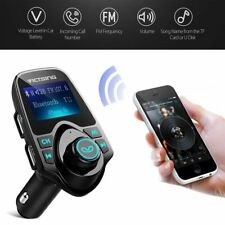 Victsing Wireless Bluetooth LCD Car MP3 FM Transmitter AUX USB Charger Handsfree