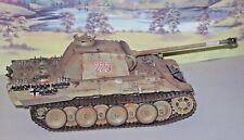TAMIYA 135 German Panther Tank with METAL TRACKS  BUILT PAINTED HIGH STANDARD