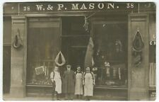 More details for w & p mason, saddler, equestrian, shop, 44 new row, perth - perthshire postcard