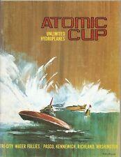 1968 Atomic Cup Tri-City Water Follies Hydroplane Race Program
