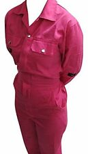 Pink Boiler Suit Coveralls Pink Overalls Size 14 Large, As worn by Rosie Webster
