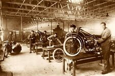BMW ASSEMBLY PLANT R32 CIRCA 1920s POSTER 20 X 30 DIGITAL PRINT PHOTOGRAPHY