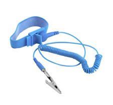 Esd Wrist Strap Alligator Clip Anti Static Discharge Band Grounding Prevent Stat