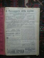 Il messaggero della cucina 1914