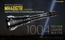 Nitecore MH40GTR - Jagd Taschenlampe mit CREE XP-L HI V3 LED, 1200 Lumen, 1004m