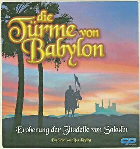 Die Türme von Babylon Gesellschaftsspiel Brettspiel -  Eroberung der Zitadell