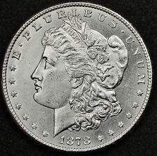 1878-s Morgan Silver Dollar.  Proof-like.  Choice B.U.   92111