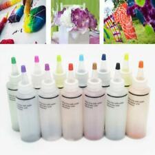 12 Bottles Tulip One Step Tie Dye Set Vibrant Fabric Textile Permanent Paint