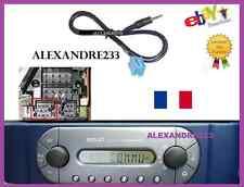 Cable Auxiliaire MP3 pour autoradios d'origine Smart ForTwo