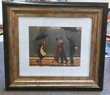 The Singing Butler by Jack Vettriano Chunky Deluxe Framed Art Print Romantic
