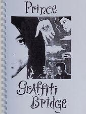 PRINCE Book GRAFFITI BRIDGE Script ring-bound 48 Page