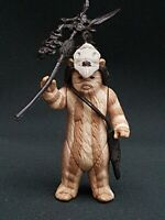 Star Wars Figure Vintage Logray Ewok Medicine Man 1983 Macau Mint Darker Stripes