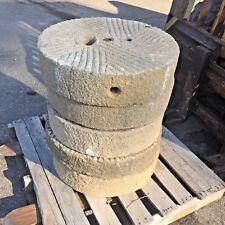 5 Antique granite Millstones Japanese garden landscape water basin fountain