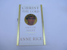 Christ the Lord Out of Egypt Anne Rice Young Jesus Christ Author Signed Catholic