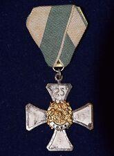 Orden Ehrenkreuz Königl. Sächs. 25 Jahre Bundeszugehörigk. 1. Form S.M.V.B. 1924