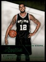2015-16 Prestige Bonus Shots Green #29 LaMarcus Aldridge /5 - NM-MT