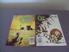 Wizard of Oz Comics Marvel # 6  #8 2009