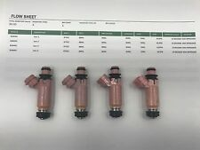 SUBARU 870cc Flow Tested Subaru STI Pink  Top Feed Fuel Injectors:
