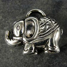 20  x CCB Plastic Jewellery Making INDIAN ELEPHANT Pendant Charms Charm  NP34