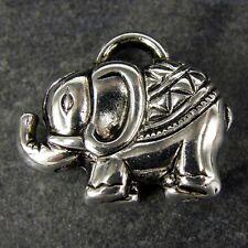20 x CCB Plastique Fabrication de bijoux indien pendentif éléphant charmes charme np34