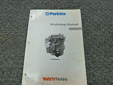 Perkins 4.108 4.107 4.99 Diesel Engine Shop Service Repair Manual Book