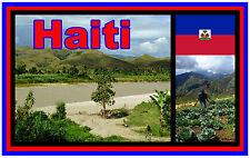 HAITI - SOUVENIR NOVELTY FRIDGE MAGNET - BRAND NEW - GIFT
