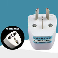 Universal UK US EU to AU AC Power Socket Plug Travel Charger Adapter Converter
