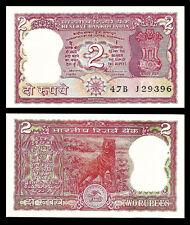INDIA 2 RUPEES 1978 P 53Ae UNC W/H Venkitaramanan TIGER