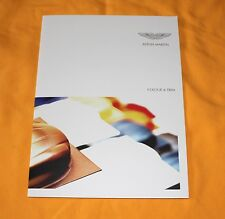 Aston Martin Colour & Trim 2011 Prospekt Brochure Catalog Prospetto Prospecto