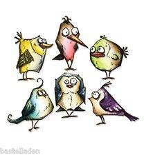Tim Holtz - Framelits Bird Crazy 660954 18tlg. Stanze Vögel Sizzix