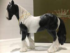 Piebald Gypsy Cob Horse Gift Figurine Ornament Figure