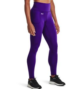 Under Armour Women's UA Motion Full-Length Leggings. Purple Zest