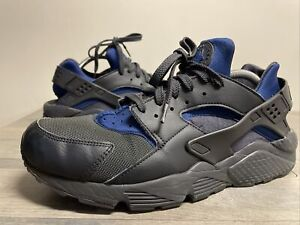 Nike Mens Air Huarache Run Ultra 318429-418 Gray/Blue Running Shoes Size 13