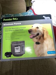New Genuine Sealed Premier Pet Wireless Fence System