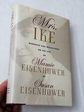 1996, Mrs Ike Memories & Reflections..by Susan Eisenhower, HBw/dj 1st SIGNED!