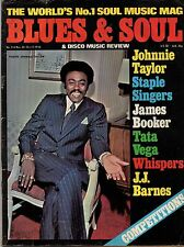Johnnie Taylor Blues & Soul Issue 214 1976 Staple Singers Tata Vega The Whispers