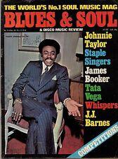Johnnie Taylor Blues & Soul Issue 214 1976 Staple Singers Tata Vega The Whispers