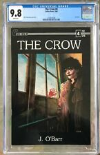 The Crow #4 (1989) CGC 9.8 -- White pages; Last issue of original Caliber series