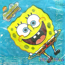 SPONGEBOB SQUAREPANTS LUNCH NAPKINS (20) ~ Birthday Party Supplies Dinner Large