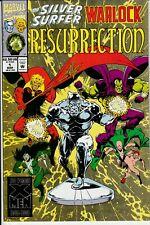 Silver Surfer / Warlock: Resurrection #1 and 2 (Marvel Comics) Modern Age